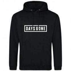 Мужская толстовка Days Gone color logo