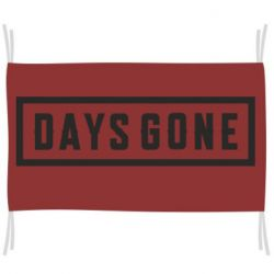 Прапор Days Gone color logo