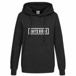 Женская толстовка Days Gone color logo