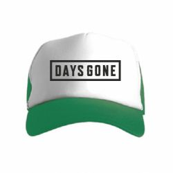 Детская кепка-тракер Days Gone color logo
