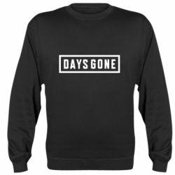 Реглан (свитшот) Days Gone color logo