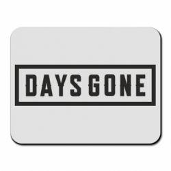 Коврик для мыши Days Gone color logo