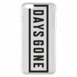 Чехол для iPhone 6 Plus/6S Plus Days Gone color logo