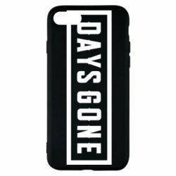 Чехол для iPhone 7 Days Gone color logo