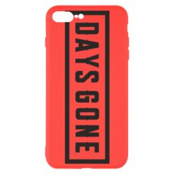 Чехол для iPhone 7 Plus Days Gone color logo