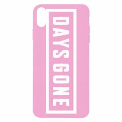 Чохол для iPhone X/Xs Days Gone color logo