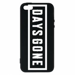 Чехол для iPhone5/5S/SE Days Gone color logo