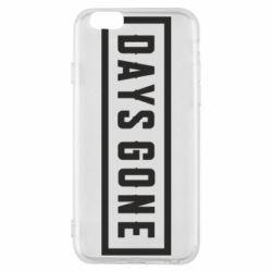 Чехол для iPhone 6/6S Days Gone color logo