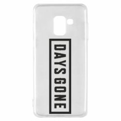 Чохол для Samsung A8 2018 Days Gone color logo