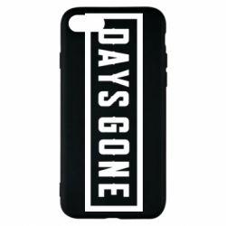 Чехол для iPhone 8 Days Gone color logo