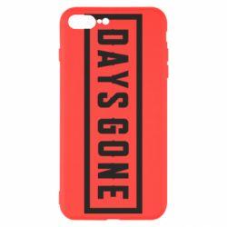 Чехол для iPhone 8 Plus Days Gone color logo