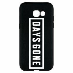 Чехол для Samsung A5 2017 Days Gone color logo