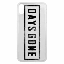 Чохол для iPhone Xs Max Days Gone Logo
