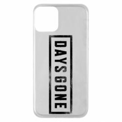 Чохол для iPhone 11 Days Gone Logo