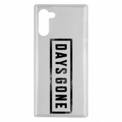 Чохол для Samsung Note 10 Days Gone Logo