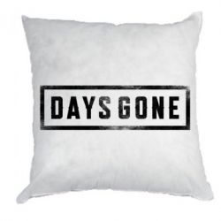 Подушка Days Gone Logo