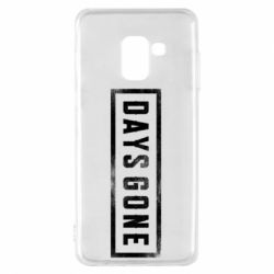 Чохол для Samsung A8 2018 Days Gone Logo