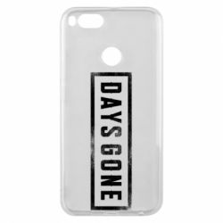 Чохол для Xiaomi Mi A1 Days Gone Logo