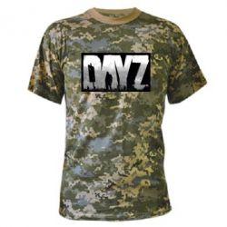 Камуфляжная футболка Dayz logo