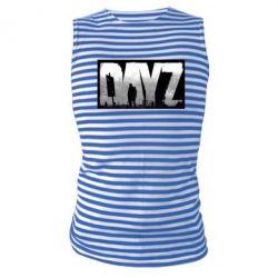 Майка-тельняшка Dayz logo