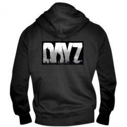 Мужская толстовка на молнии Dayz logo