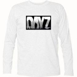 Футболка с длинным рукавом Dayz logo