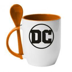 Кружка з керамічною ложкою DC Comics 2016