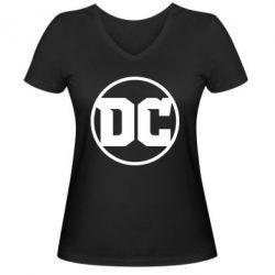 Жіноча футболка з V-подібним вирізом DC Comics 2016