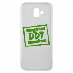 Чехол для Samsung J6 Plus 2018 DDT (ДДТ) - FatLine