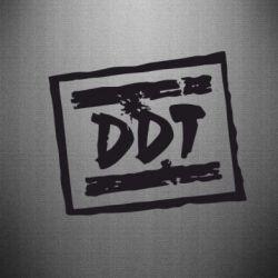 Наклейка DDT (ДДТ)