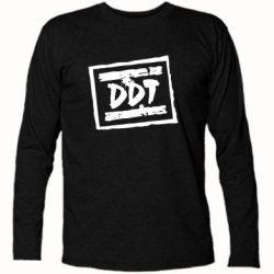 Футболка с длинным рукавом DDT (ДДТ) - FatLine