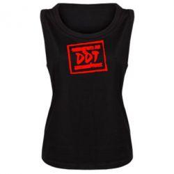 Женская майка DDT (ДДТ) - FatLine