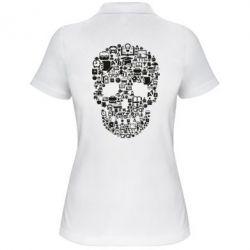 Жіноча футболка поло Dead  School