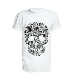 Подовжена футболка Dead  School