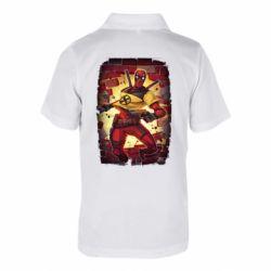 Дитяча футболка поло Deadpool Comics