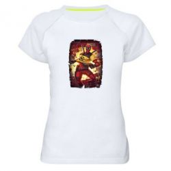 Жіноча спортивна футболка Deadpool Comics