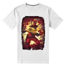 Чоловіча стрейчева футболка Deadpool Comics