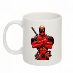 Кружка 320ml Deadpool Comics - FatLine