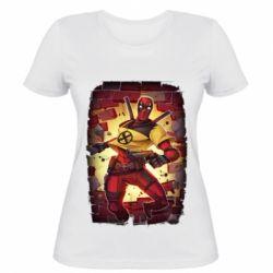 Жіноча футболка Deadpool Comics