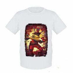 Дитяча футболка Deadpool Comics