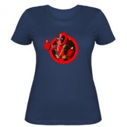 Женская футболка Deadpool Fallout Boy - FatLine