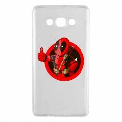 Чехол для Samsung A7 2015 Deadpool Fallout Boy