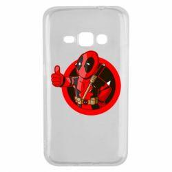 Чехол для Samsung J1 2016 Deadpool Fallout Boy
