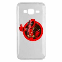 Чехол для Samsung J3 2016 Deadpool Fallout Boy