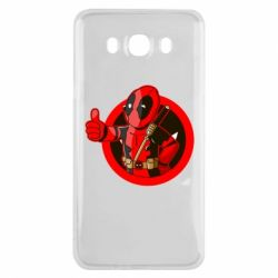 Чехол для Samsung J7 2016 Deadpool Fallout Boy