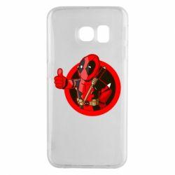 Чехол для Samsung S6 EDGE Deadpool Fallout Boy