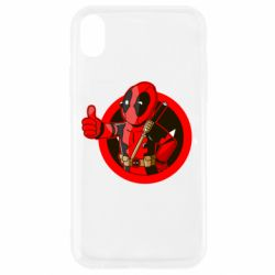 Чехол для iPhone XR Deadpool Fallout Boy