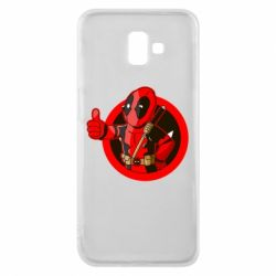 Чехол для Samsung J6 Plus 2018 Deadpool Fallout Boy