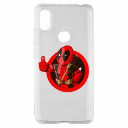 Чехол для Xiaomi Redmi S2 Deadpool Fallout Boy