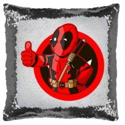 Подушка-хамелеон Deadpool Fallout Boy